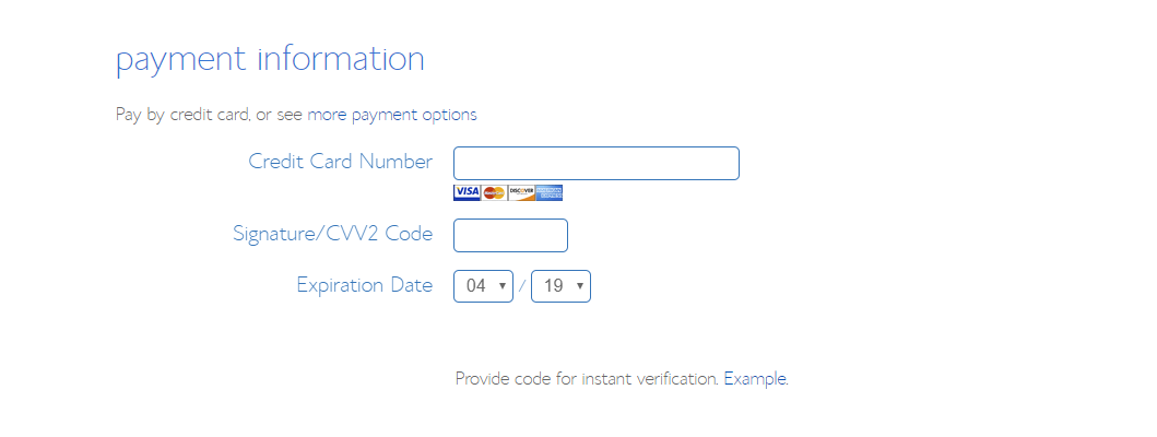 Bluehost Coupons Payment Info